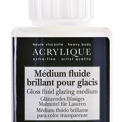medium fluido brillante para veladura