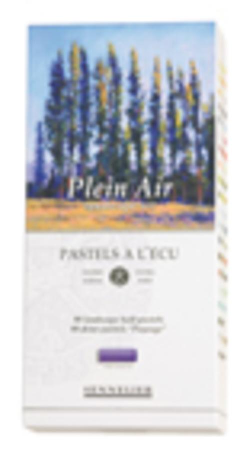 Estuche de cartón Plein air n132235boite80demipastelspleinairtranchecouleurs